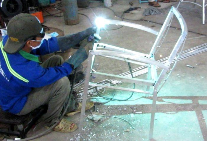 Sản xuất bàn ghế nhựa giả mây MT2A30 tại Minh Thy Furniture