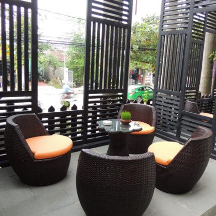 Hướng dẫn cách đan bàn ghế cafe nhựa giả mây ngoài trời cao cấp MT2A31 tại Minh Thy Furniture