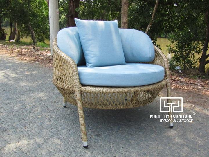 Sản xuất ghế giả mây sân vườn cao cấp tại Nội thất Minh Thy