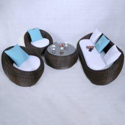 Sofa Mây Nhựa MT1A22