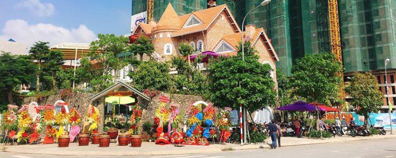 Cafe Lau Dai Pho chon Minh Thy Furniture la nha cung cap ban ghe sat