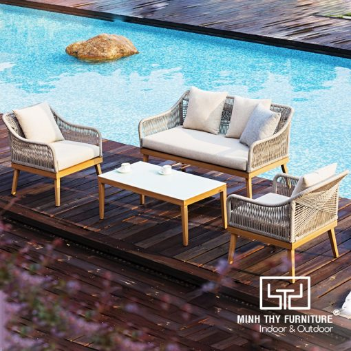 Ghế Sofa Mây Nhựa MT1002