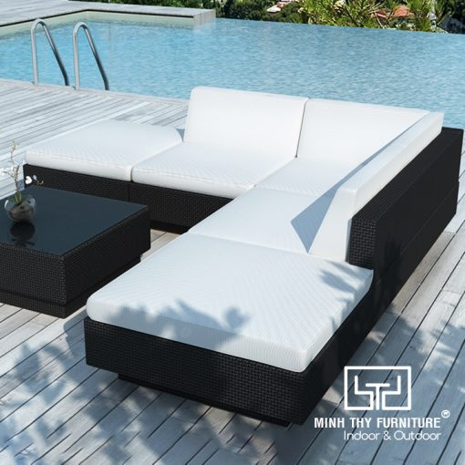 Ghế Sofa Mây Nhựa MT137