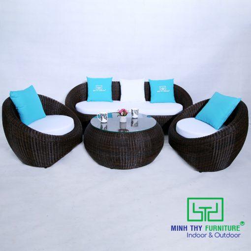 Ghế Sofa Mây Nhựa MT1A22