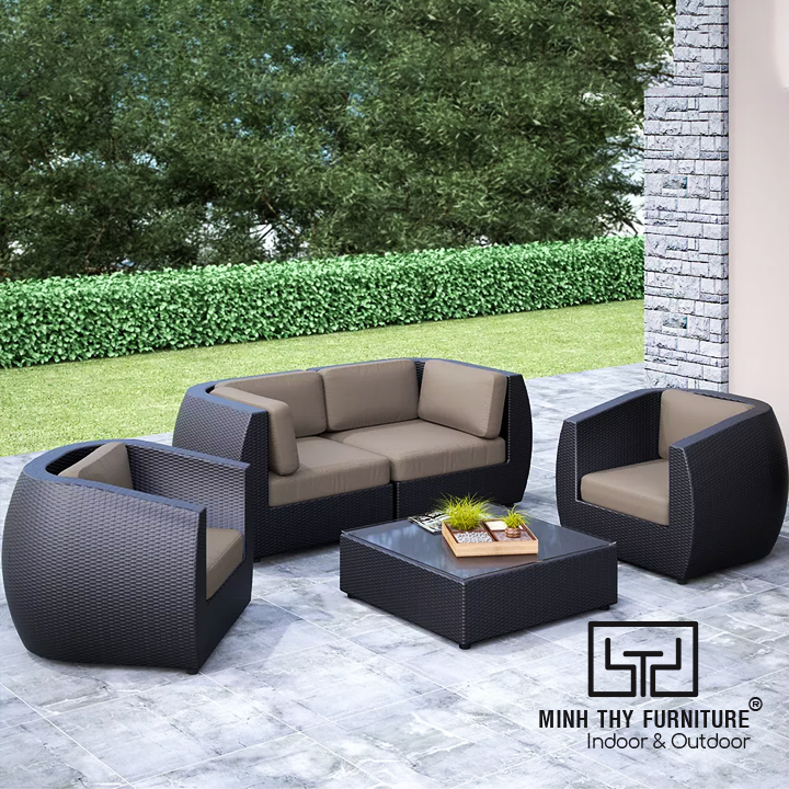 Sofa Mây Nhựa MT1A13