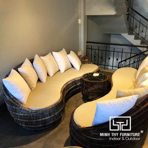 Sofa Mây Nhựa Phòng Khách MT1000