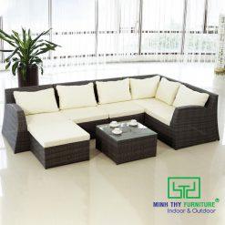 Sofa Mây Nhựa Phòng Khách MT176