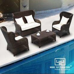 Sofa Nhựa Giả Mây MT162